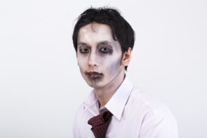 顔色の悪い男性