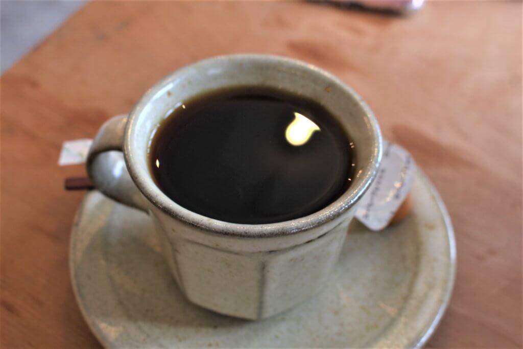 yuinowaで出るコーヒー