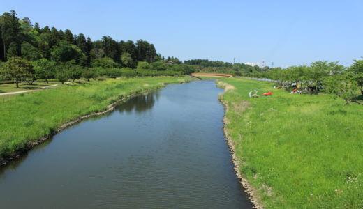 水戸市千波湖近辺